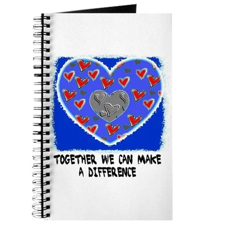 TOGETHER WE CAN MAKE A DIFFERENCE Journal
