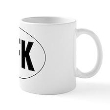 Oval-AFK Mug