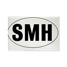 Oval-SMH Rectangle Magnet