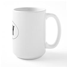 Oval-NY Mug
