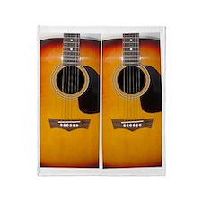FlipFlops-Guitar Throw Blanket