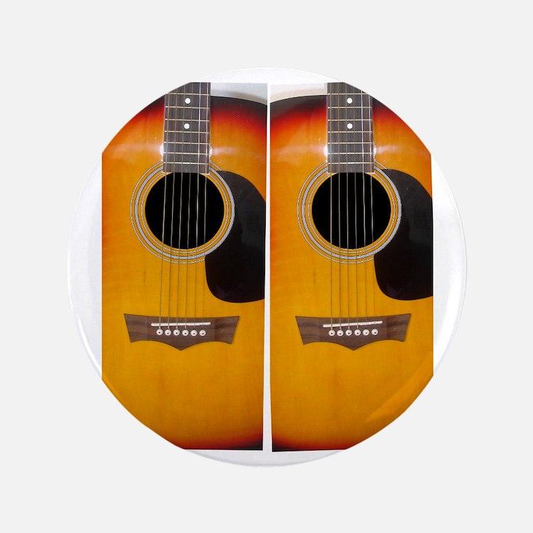 """FlipFlops-Guitar 3.5"""" Button"""