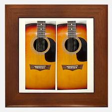 FlipFlops-Guitar Framed Tile