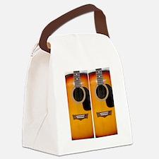 FlipFlops-Guitar Canvas Lunch Bag