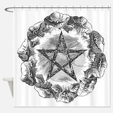 bcwc-pentacle Shower Curtain