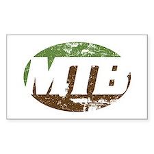 MTB dark Decal