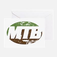 MTB dark Greeting Card