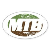 Mountain biking Bumper Stickers