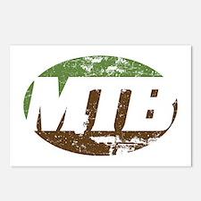 MTB dark Postcards (Package of 8)