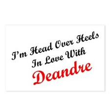 In Love with Deandre Postcards (Package of 8)