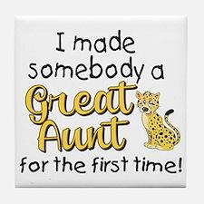 great aunt Tile Coaster
