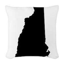 NHblack Woven Throw Pillow