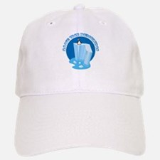 Save the Penguins Baseball Baseball Cap