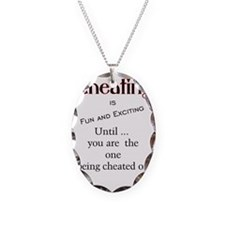 Cheating without sign Necklace