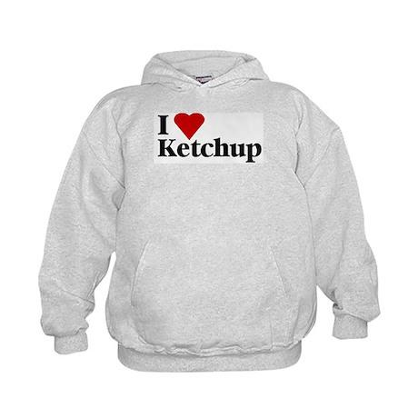 I love ketchup Kids Hoodie