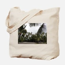 Palms in the Sand Tote Bag