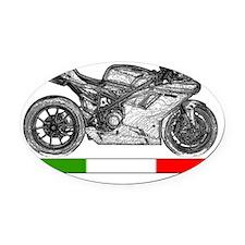 Ducati1198-4 Oval Car Magnet