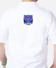 """MAKE A DIFFERENCE """"CARE FOR SOMEONE"""" T-Shirt"""
