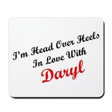 In Love with Daryl Mousepad