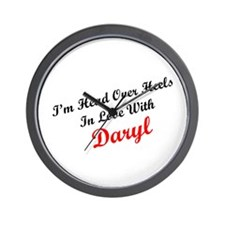 In Love with Daryl Wall Clock
