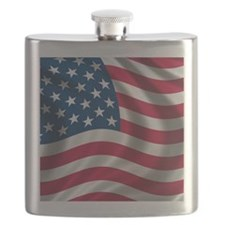 FlopFlop-USAFlag Flask