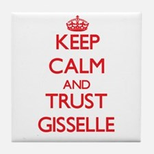 Keep Calm and TRUST Gisselle Tile Coaster