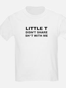 Little T Didn't Share Kids T-Shirt