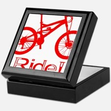 MTB-Ride-Red Keepsake Box