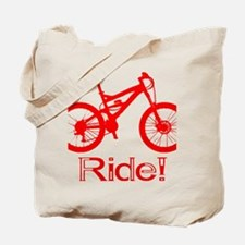MTB-Ride-Red Tote Bag