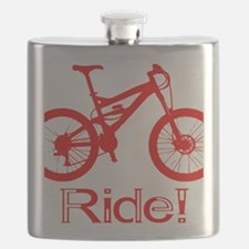 MTB-Ride-Red Flask