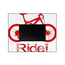 MTB-Ride-Red Picture Frame
