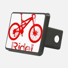 MTB-Ride-Red Hitch Cover