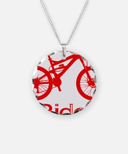 MTB-Ride-Red Necklace