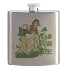 WILD-IRISH-ROSE-TEE Flask