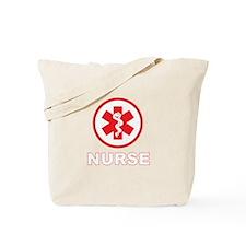 NURSE RED Tote Bag