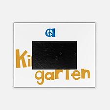 Peace, Love, Kindergarten Picture Frame