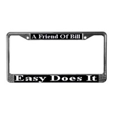 Easy Does It License Plate Frame