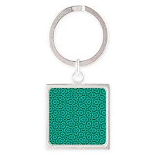 PenroseTiling Square Keychain