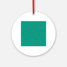 PenroseTiling Round Ornament