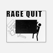 RageQuit-Black Picture Frame
