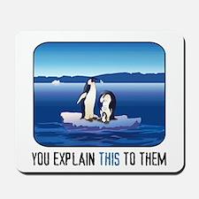 Arctic Penguins Mousepad