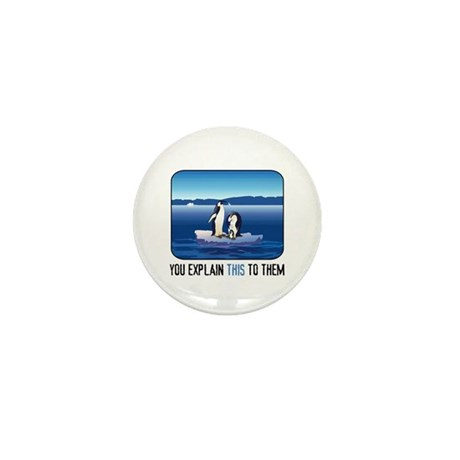 Arctic Penguins Mini Button (10 pack)