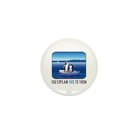 Arctic Penguins Mini Button