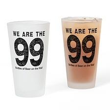 WeAreThe99 Drinking Glass
