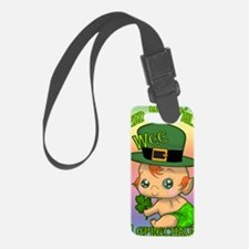 100-k-welcomes-baby-BANNER-VERTI Luggage Tag