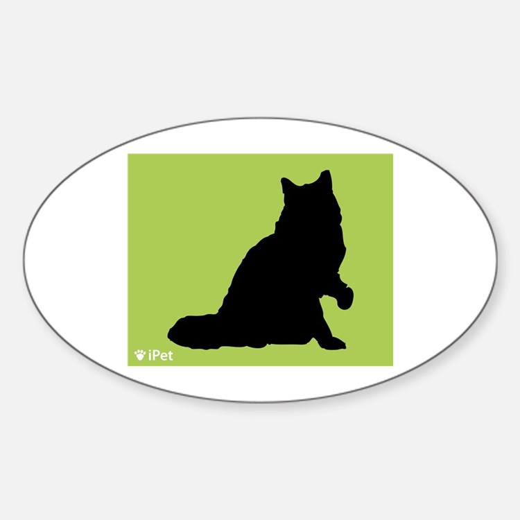 Ragamuffin iPet Oval Decal