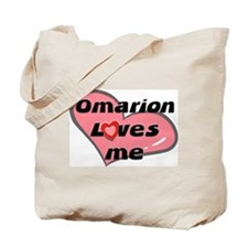 omarion loves me Tote Bag