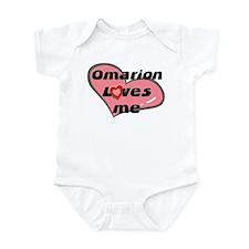 omarion loves me  Infant Bodysuit