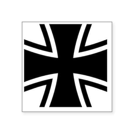 """Bundeswehr_Logo Square Sticker 3"""" x 3"""""""
