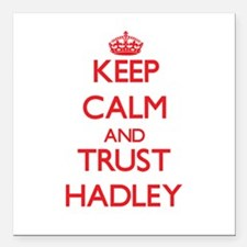 """Keep Calm and TRUST Hadley Square Car Magnet 3"""" x"""